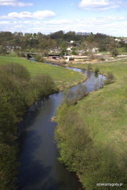 Widok z mostu na Brdę