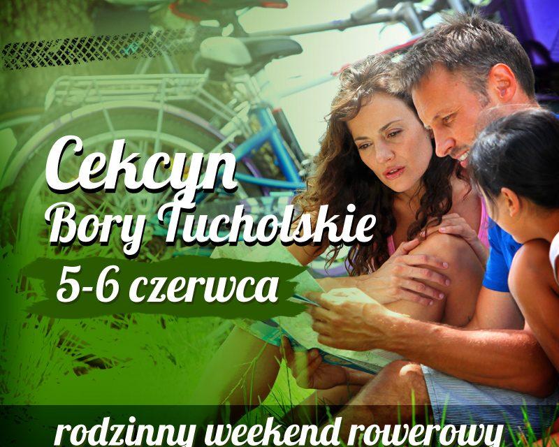 Rodzinny rowerowy weekend w Cekcynie – II Borowiacki Rajd Rowerowy