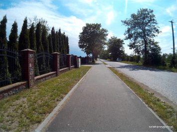 Ścieżka rowerowa w Bysławku