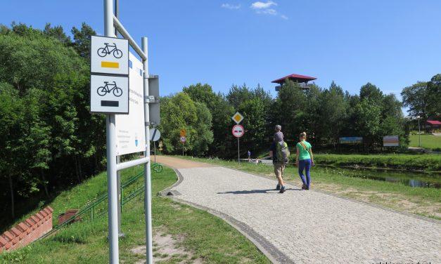 Szlak rowerowy Trzy Akwedukty w Borach Tucholskich