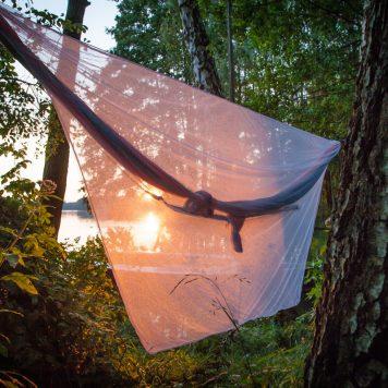 Zachód słońca bez komarów