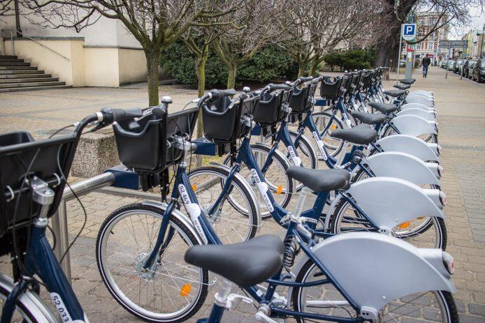 Rowery na stacji