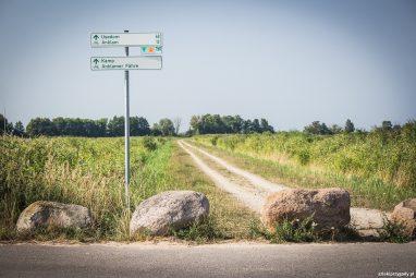Rowerowe drogowskazy na szlaku Odra-Nysa