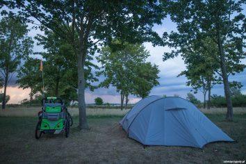 Uroczo położony camping w Greifswald