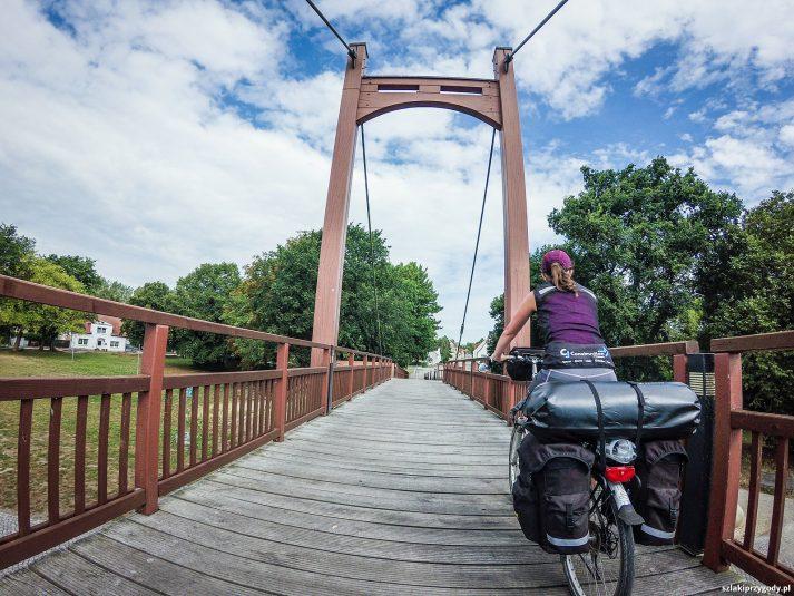Most pieszo-rowerowy w Anklam