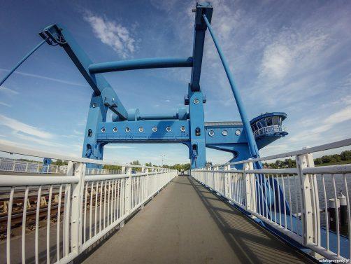Most zwodzony w Wolgaście