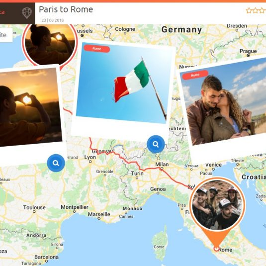 LMT - mapa podróży