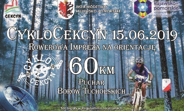 VI Borowiacki Rajd Rowerowy – CykloCekcyn 2019 – 15 czerwca 2019 r.