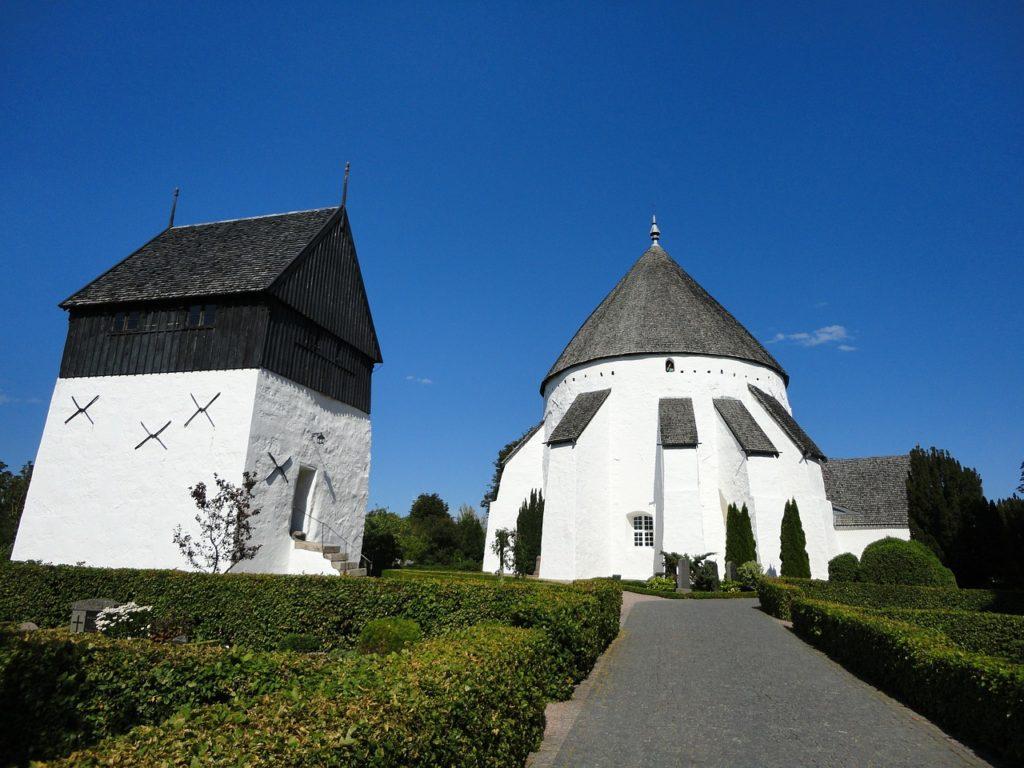 Kościół rotundowy na Bornholmie
