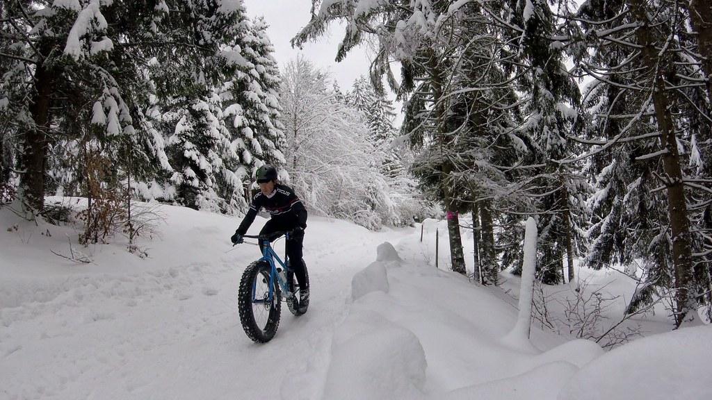 Pomysły na zimowe wypady rowerowe