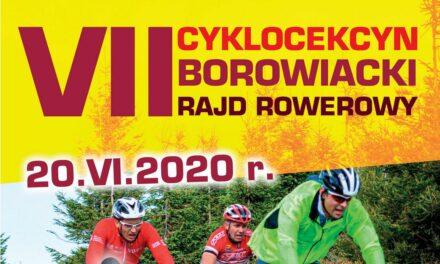 VII Borowiacki Rajd Rowerowy – CykloCekcyn 2020 – 20 czerwca 2020 r.