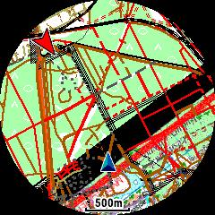 Mapa rastrowa na Garmin 945