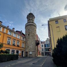 Jelenia Góra wieża widokowa (Zamkowa)
