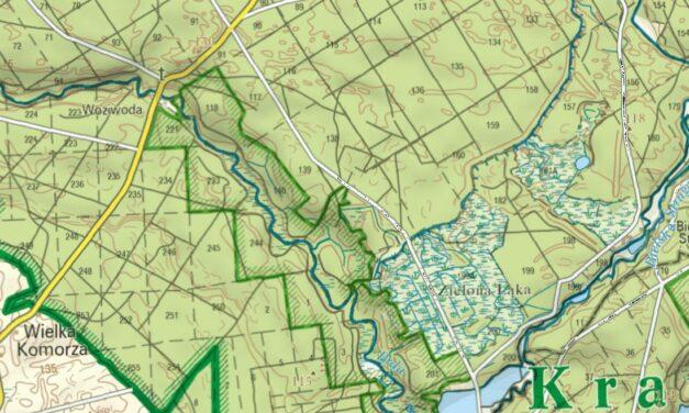 Kujawsko-pomorskie parki krajobrazowe – darmowe mapy cyfrowe