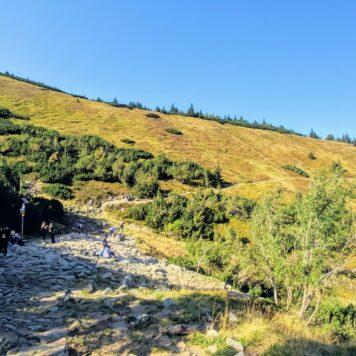 Droga z Karpacza na Śnieżkę czarnym szlakiem